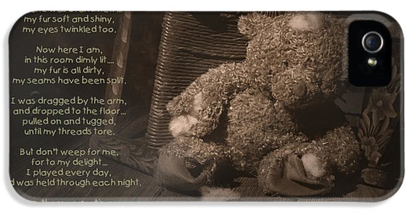 A Child Once Loved Me Poem IPhone 5 Case by Tom Mc Nemar