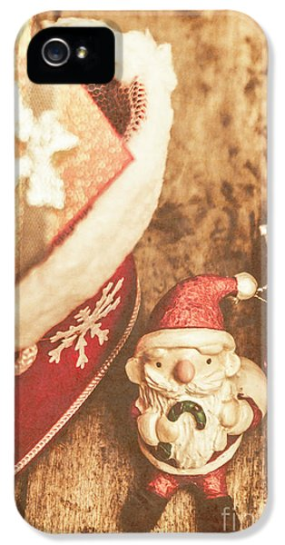 A Clause For A Merry Christmas  IPhone 5 Case by Jorgo Photography - Wall Art Gallery