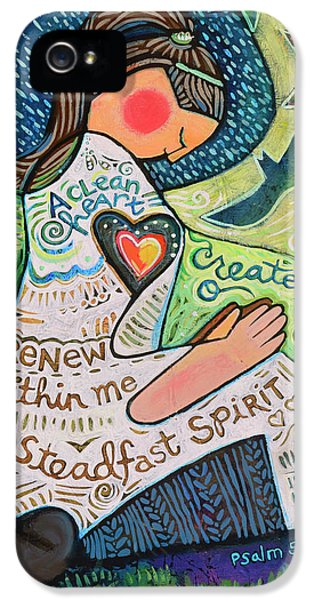 A Clean Heart IPhone 5 Case