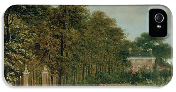 A Country House IPhone 5 Case by J Hackaert