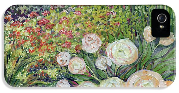 Impressionism iPhone 5 Case - A Garden Romance by Jennifer Lommers