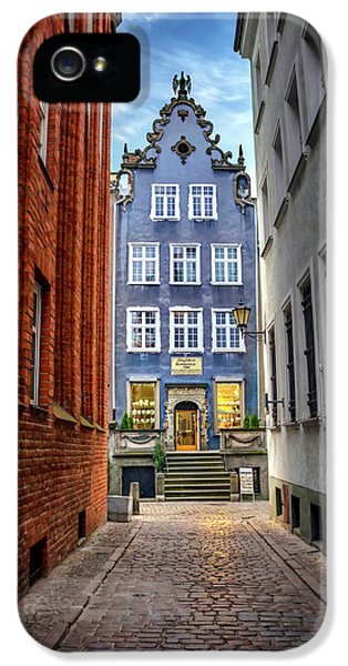 A Glimpse Of Mariacka Street In Gdansk Poland IPhone 5 Case