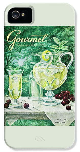 A Gourmet Cover Of Glassware IPhone 5 Case