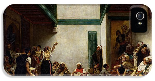 A Jewish Wedding In Morocco IPhone 5 Case by Ferdinand Victor Eugene Delacroix