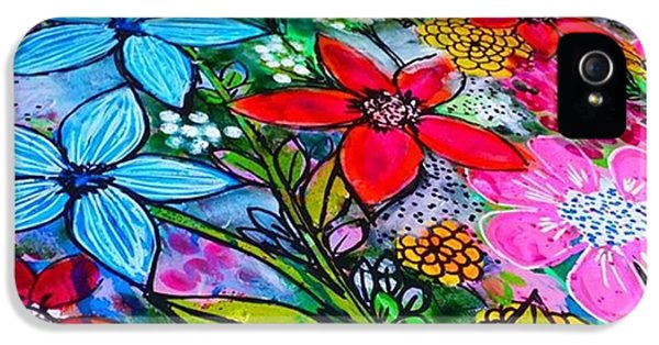 iPhone 5 Case - A Little Update Before I Add Step 4 To by Robin Mead
