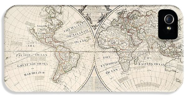 A Map Of The World IPhone 5 Case