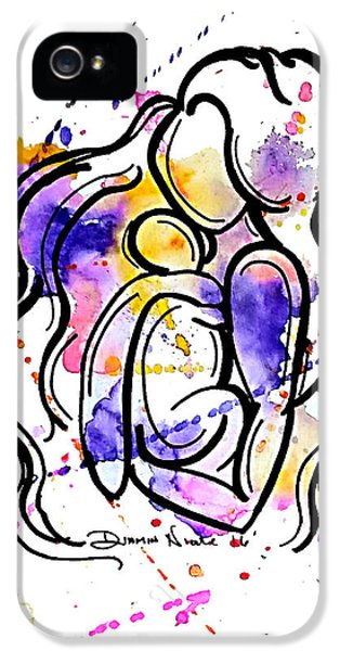 A Mother's Love IPhone 5 Case by Diamin Nicole