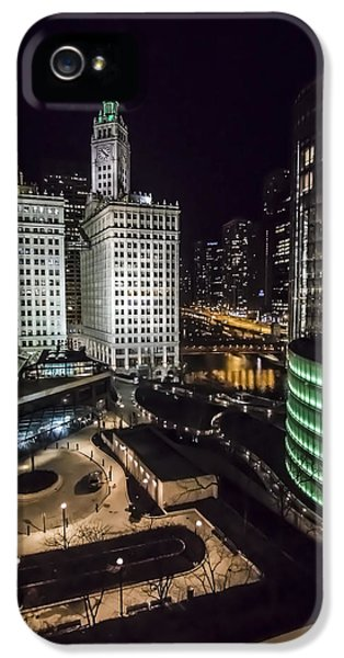 A Nighttime Look At Chicago's Wrigley Building IPhone 5 Case