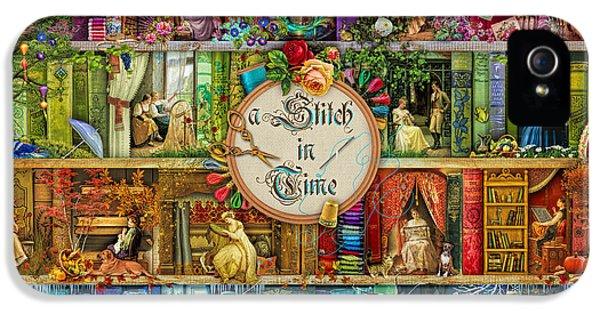A Stitch In Time IPhone 5 Case