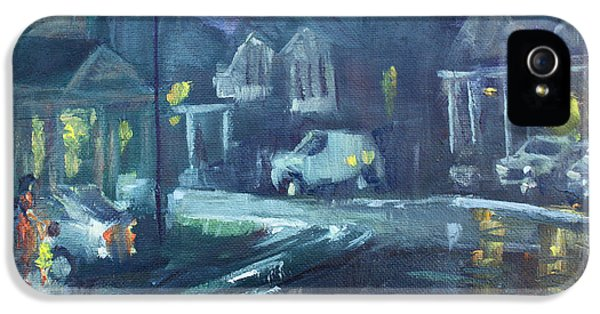 A Summer Rainy Night IPhone 5 Case by Ylli Haruni