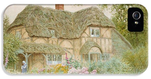 A Surrey Cottage IPhone 5 Case by Arthur Claude Strachan