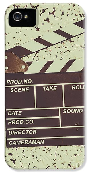 A Take From Old Hollywood IPhone 5 Case by Jorgo Photography - Wall Art Gallery
