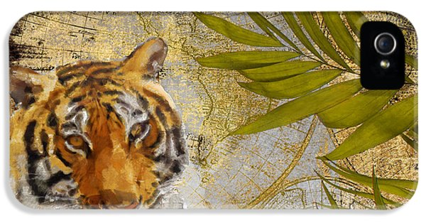 A Taste Of Africa Tiger IPhone 5 Case by Mindy Sommers