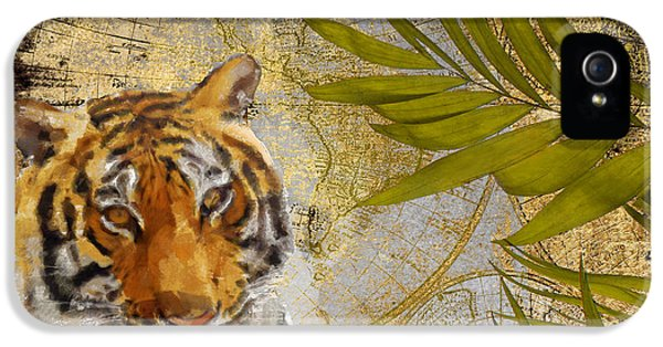 A Taste Of Africa Tiger IPhone 5 / 5s Case by Mindy Sommers