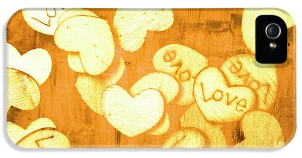 A Texture Of Vintage Love IPhone 5 Case by Jorgo Photography - Wall Art Gallery