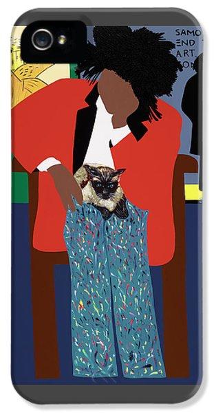 A Tribute To Jean-michel Basquiat IPhone 5 Case