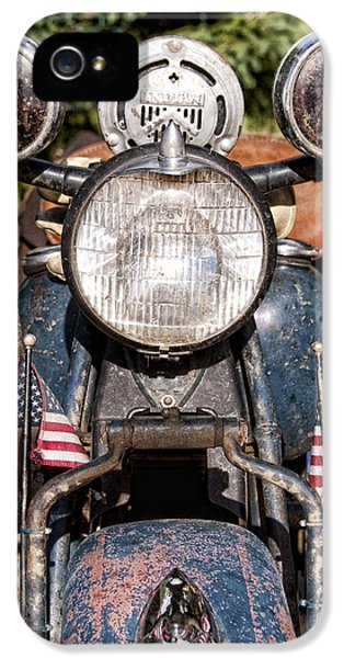 A Very Old Indian Harley-davidson IPhone 5 Case by James BO  Insogna