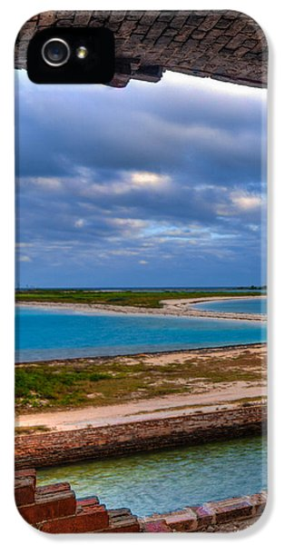 A View From Fort Jefferson IPhone 5 Case