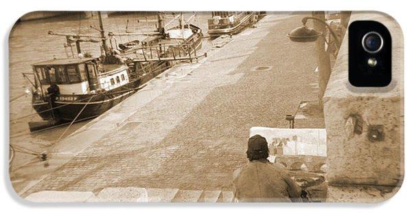 A Walk Through Paris 1 IPhone 5 Case by Mike McGlothlen