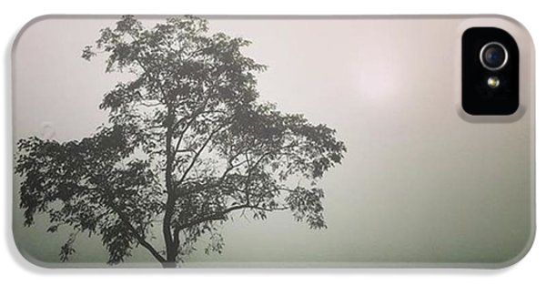 A Walk Through The Clouds #fog #nuneaton IPhone 5 Case