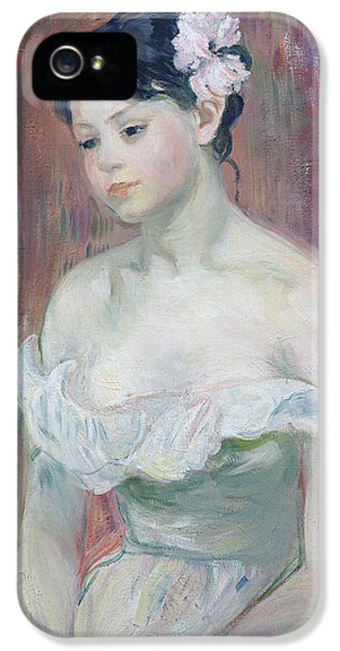 A Young Girl IPhone 5 Case by Berthe Morisot