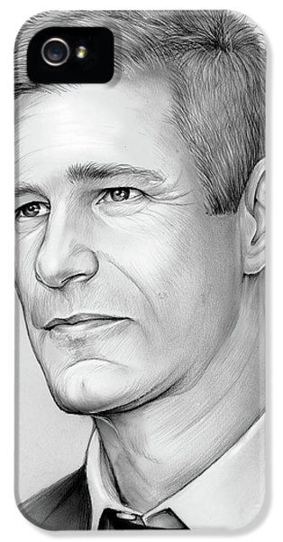 Knight iPhone 5 Case - Aaron Eckhart by Greg Joens