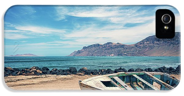 Canary iPhone 5 Case - Abandoned Boat by Delphimages Photo Creations