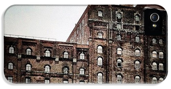 Abandoned Factory IPhone 5 Case by Natasha Marco