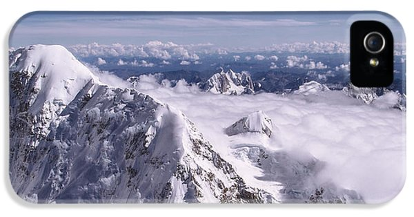 Above Denali IPhone 5 Case by Chad Dutson