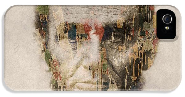 Gettysburg iPhone 5 Case - Abraham Lincoln  by Paul Lovering