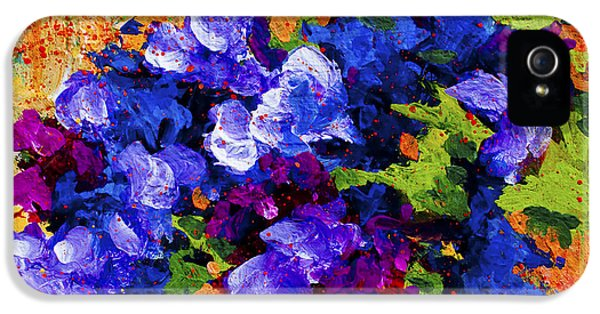 Daisy iPhone 5 Case - Abstract Boquet 3 by Marion Rose