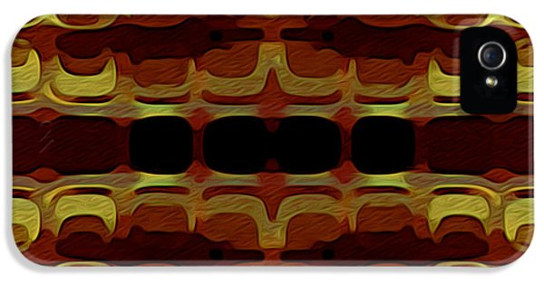 Abstract Horizontal Tiles - Harvest 1977 IPhone 5 Case