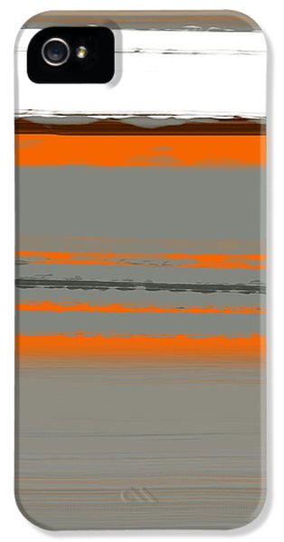 Abstract Orange 2 IPhone 5 Case by Naxart Studio