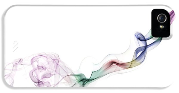 Abstract Smoke IPhone 5 Case