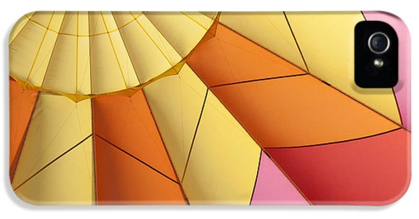 Abstract View Of Hot Air Balloon IPhone 5 Case by Juli Scalzi