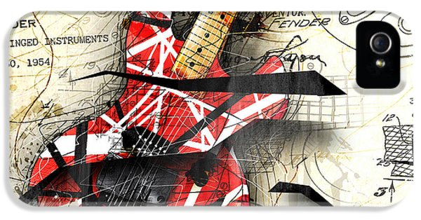 Abstracta 35 Eddie's Guitar IPhone 5 / 5s Case by Gary Bodnar
