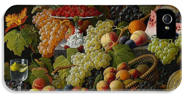 Abundant Fruit IPhone 5 Case by Severin Roesen