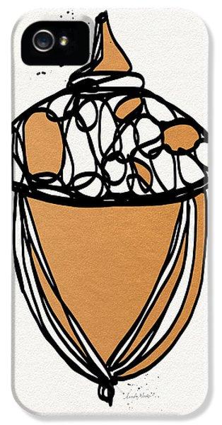 Acorn- Art By Linda Woods IPhone 5 Case by Linda Woods