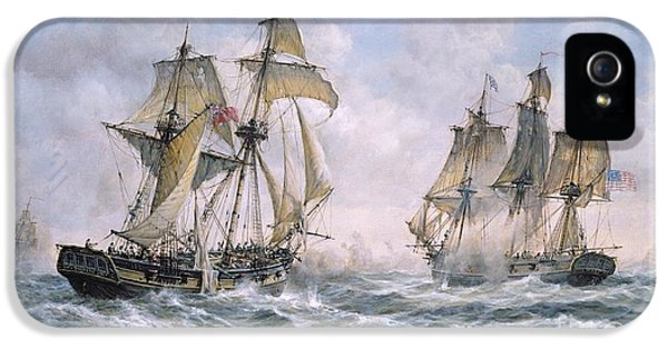 Action Between U.s. Sloop-of-war 'wasp' And H.m. Brig-of-war 'frolic' IPhone 5 Case