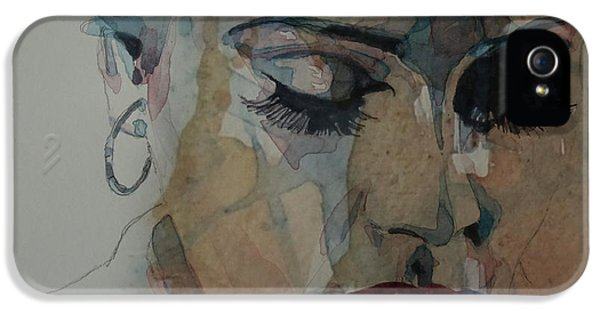 Adele - Make You Feel My Love  IPhone 5 Case by Paul Lovering