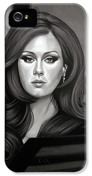 Adele Mixed Media IPhone 5 / 5s Case by Paul Meijering