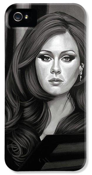Adele Mixed Media IPhone 5 Case