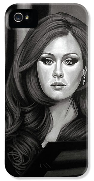 Rhythm And Blues iPhone 5 Case - Adele Mixed Media by Paul Meijering
