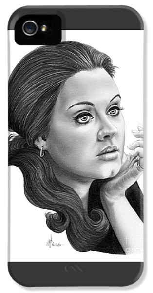 Adele IPhone 5 / 5s Case by Murphy Elliott