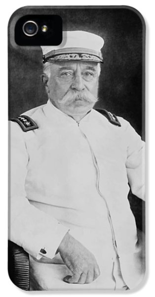 Admiral George Dewey IPhone 5 Case by War Is Hell Store