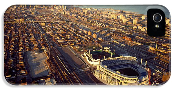 Aerial View Of A City, Old Comiskey IPhone 5 Case by Panoramic Images