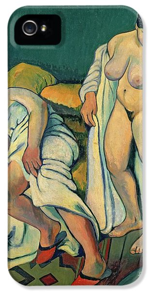 After The Bath IPhone 5 Case by Marie Clementine Valadon