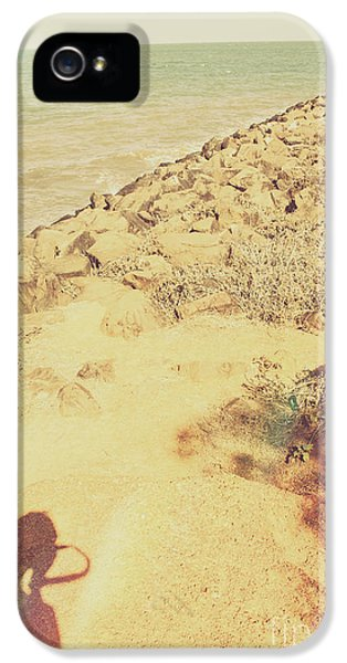 Afternoon Seascape Silhouette  IPhone 5 Case by Jorgo Photography - Wall Art Gallery