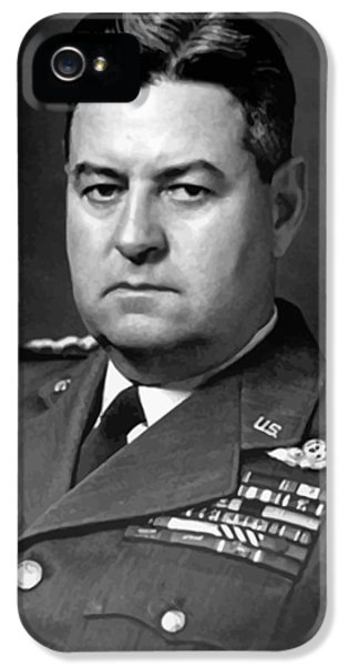 Air Force General Curtis Lemay  IPhone 5 Case by War Is Hell Store