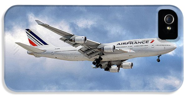 French iPhone 5 Case - Air France Boeing 747-428 118 by Smart Aviation